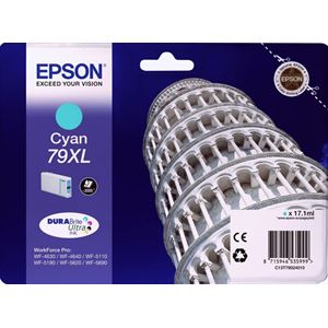 Epson C13T79024010 S.Pack Cyan 79XL DURABrite UltraInk 17,1 ml.