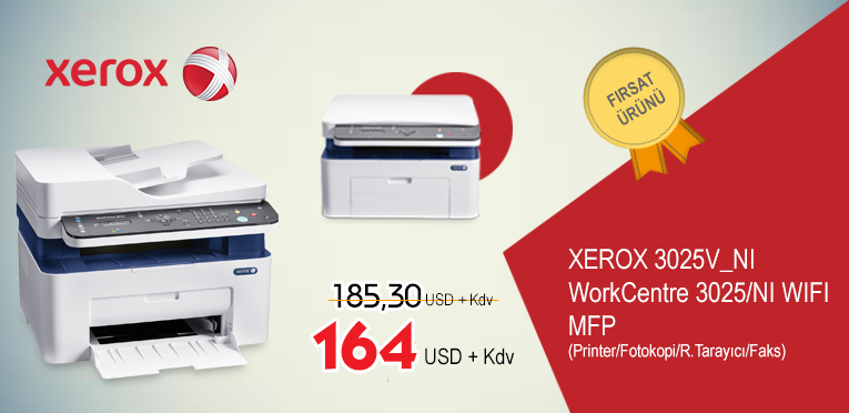 Xerox 3025 Reklam